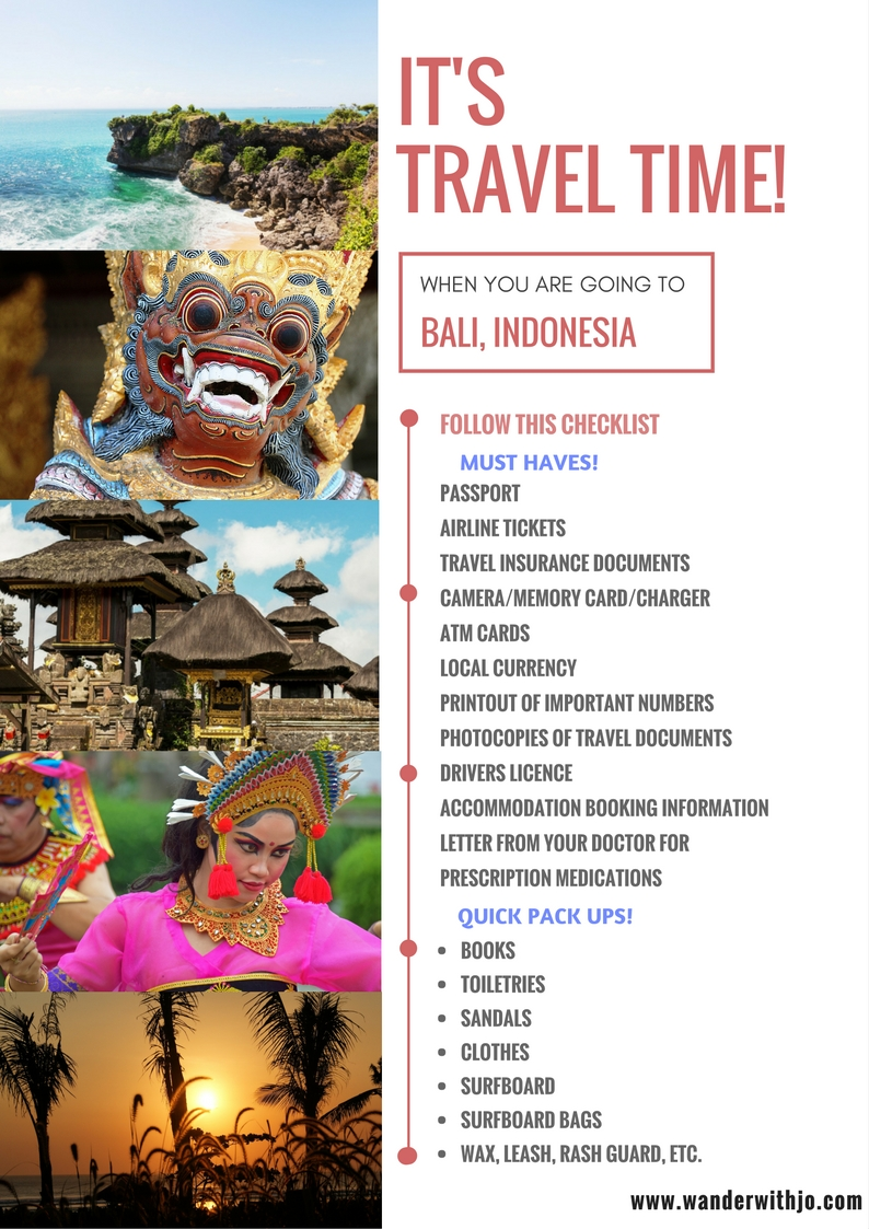 Awesome Travel Tips for Bali
