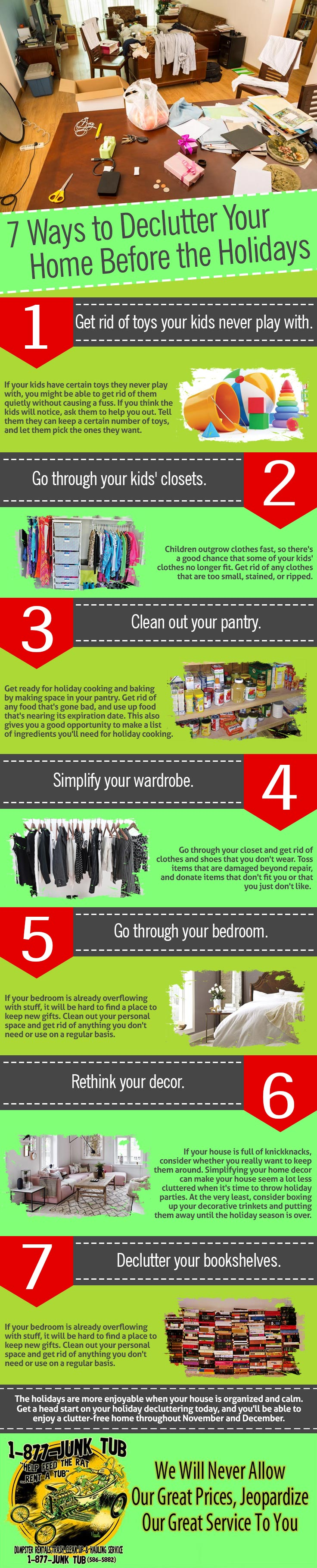 7 Ways to Declutter Your Home Before the Holidays