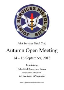 JSPC Autumn Open