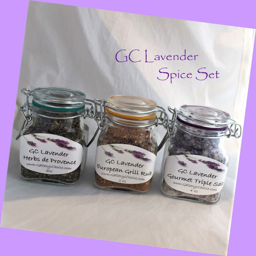 """Spice Set"" GC Lavender Gift Set"
