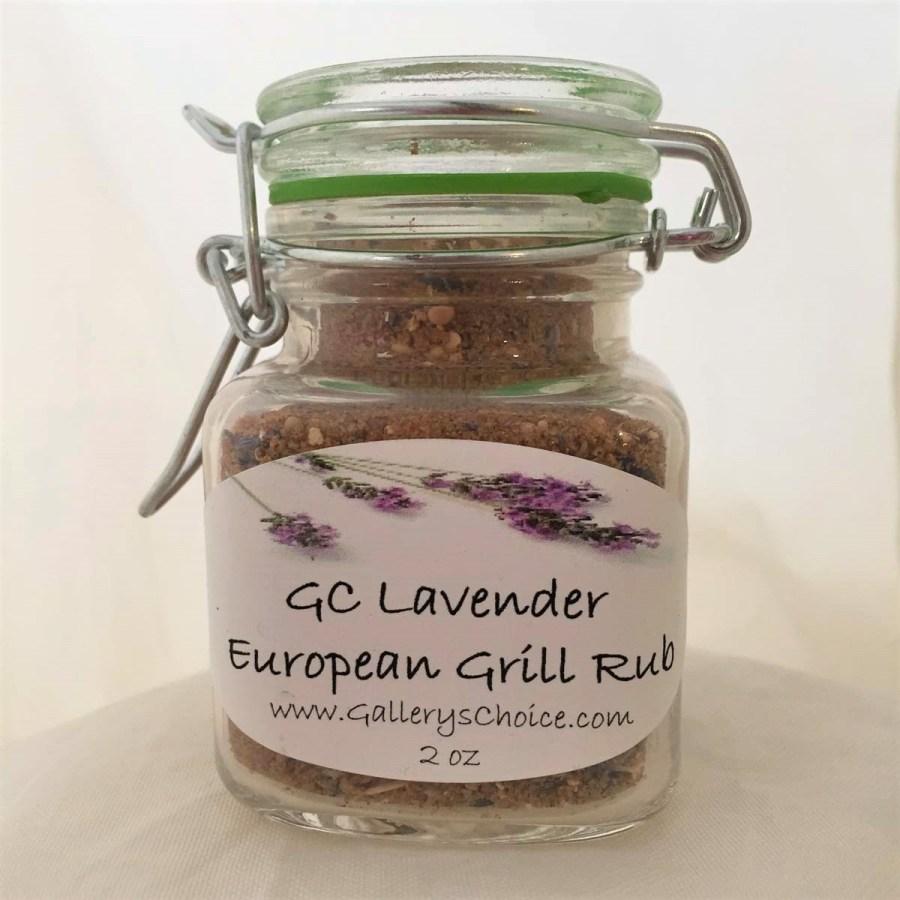 GC Lavender European Grill Rub