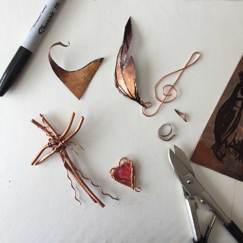 Special elements created in copper