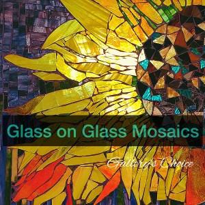 Glass on Glass Mosaics Class