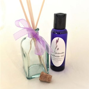 Lavender Oil Reed Diffuser set