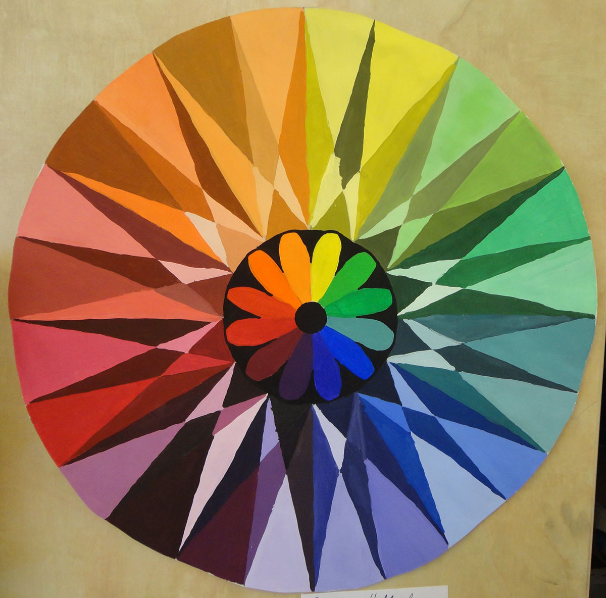 Color Wheel Lessons For First Grade