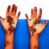Painted hands of Muslim Celebrant_Lamu Island_2004