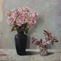 Roses and Spring Blossom