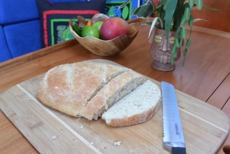 14 sliced bread displayed