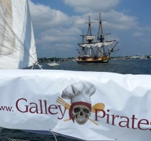 Galley Pirates with Hermione