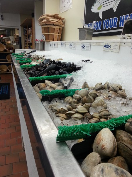 Annap Seafood clams