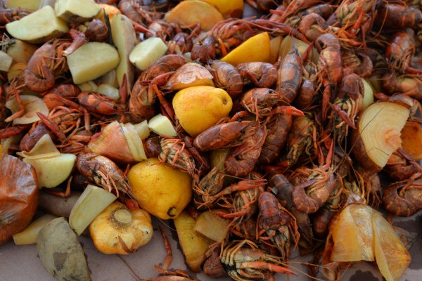 1 crawfish 1