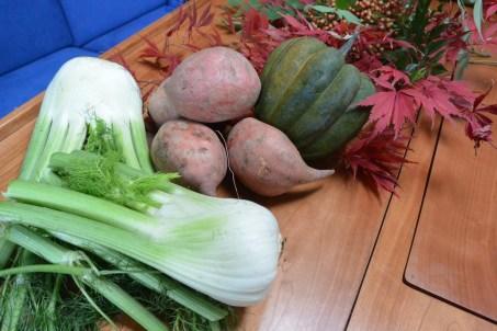sweet potato fennel ingredients