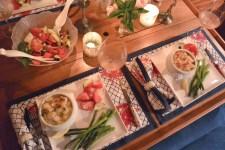 lobster mac n cheese over