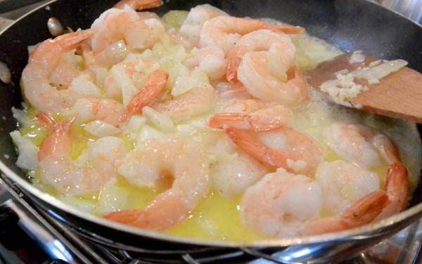 shrimp scampi in butter
