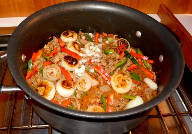 lamb in the pot