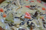 wild rice suop close up 2