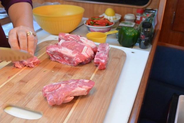 chopping lamb