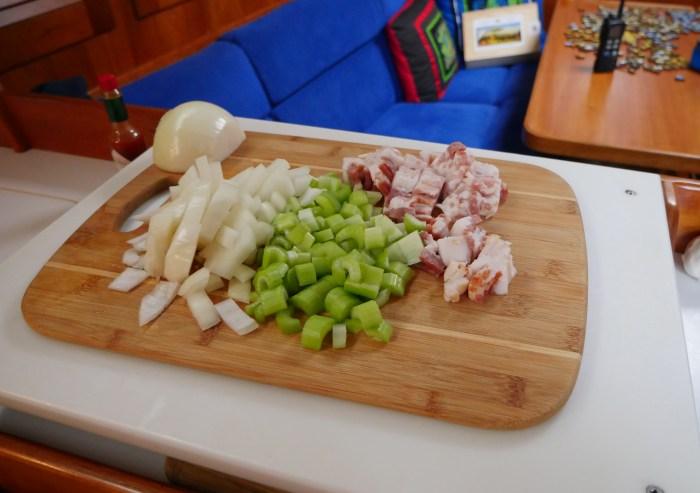 bacon-celery-onions
