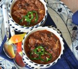Contender for the great chili cook-off!