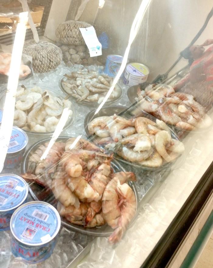 shrimp-in-display-case