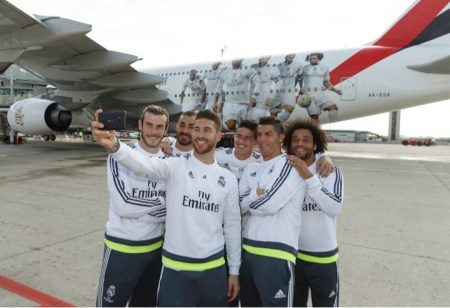 Selfie-Real-Madrid