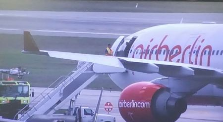 Air Berlin plane diverted to Daytona