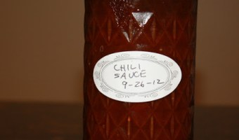 Grandma's Chili Sauce