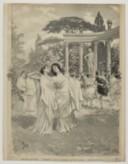 [Orphée et Eurydice : illustration de presse / de Parys]