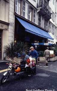 """Photog Beryl gets to the heart of Nice. Maybe I'll finally get there by """"moto""""?"""