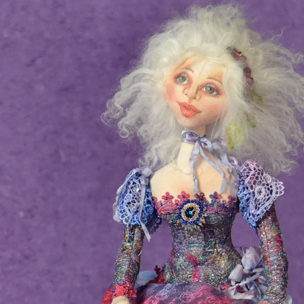 "Image from ""Cloth Doll Making"" DVD - Digital Download featuring Patti Medaris Cule"