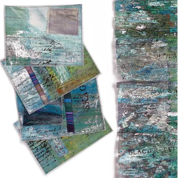 """Mixed Media Image from """"Interpretations: Look, Record, Draw"""" featuring Jan Beaney & Jean Littlejohn"""