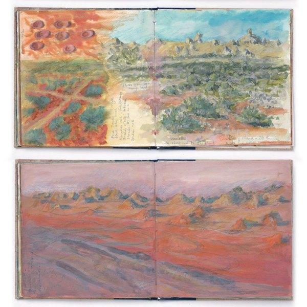 "Sketchbook Image from ""Interpretations: Look, Record, Draw"" featuring Jan Beaney & Jean Littlejohn"