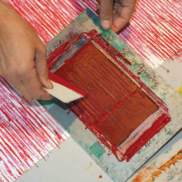 Thermofax Printing with Claire Benn & Leslie Morgan