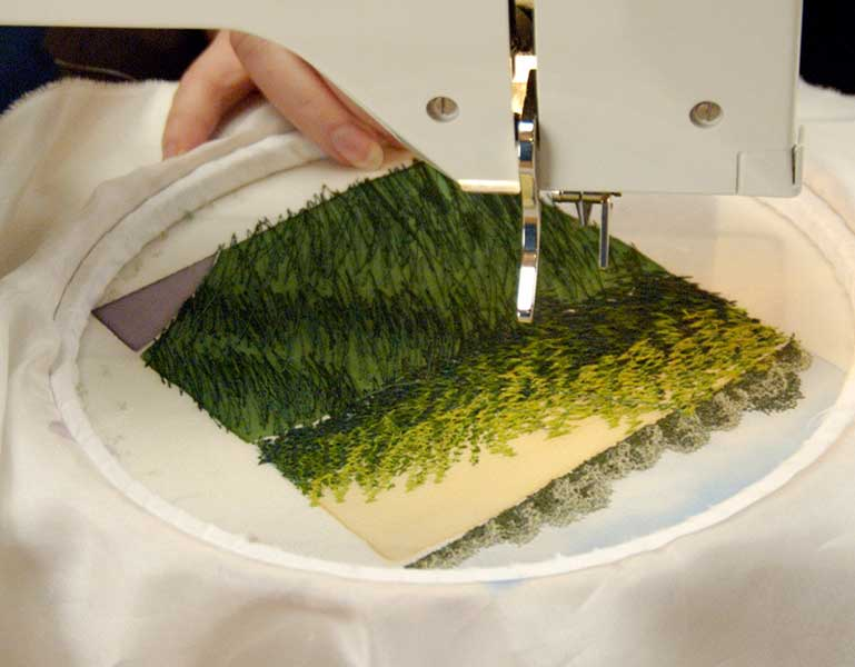 Creating Free Motion Machine Embroidery Alison Holt 12