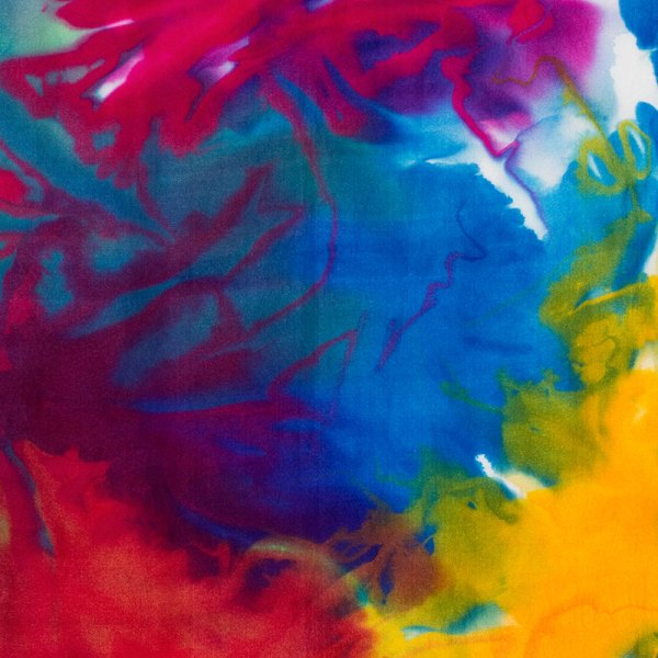 color by accident low water immersion dyeing - ann johnston - procion mx dyes on silk