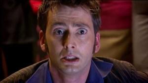 Dziesiąty Doktor o krok od płaczu
