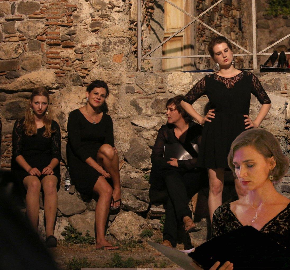 Nastop na mednarodnjem tekmovanju InCanto Mediterraneo, Sicilija, Italija