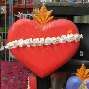 SMA Red Heart in Market