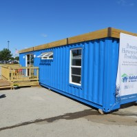 "Habitat for Humanity is creating ""Cargo Homes"" for Veterans. Way cool inside!"