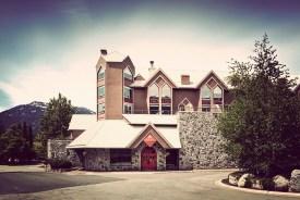 The Adara hotel in Whistler Village.