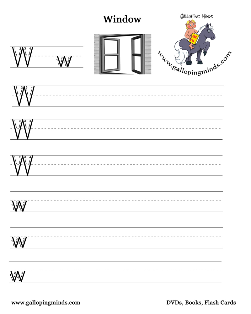 Preschool Phonics Coloring Pages
