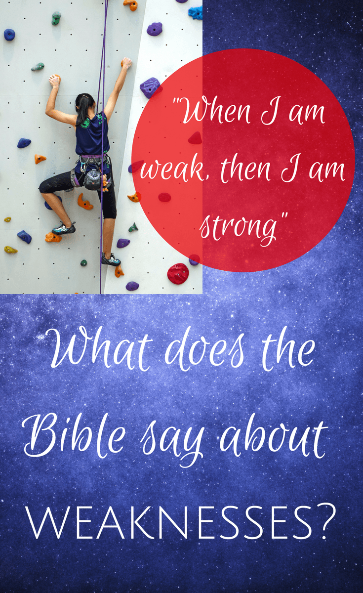 Planning to Fail: What does the Bible say about weaknesses?