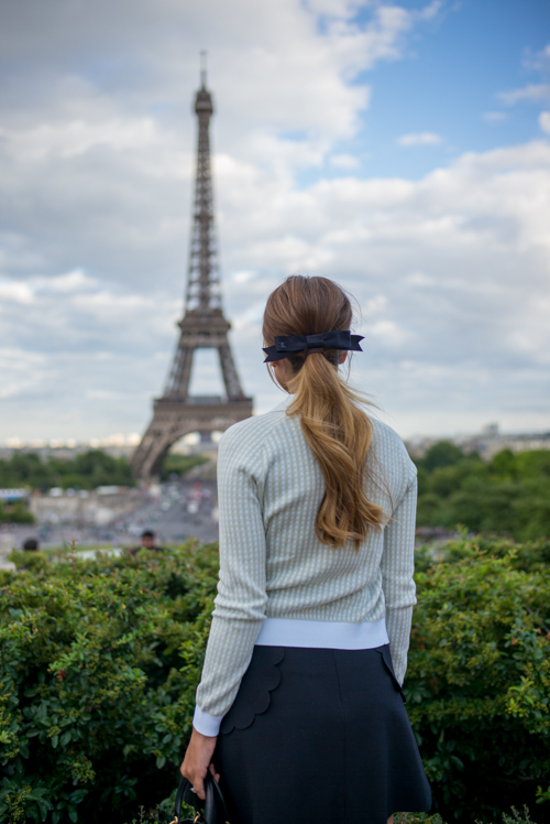 Gal Meets Glam Eiffel Tower Views