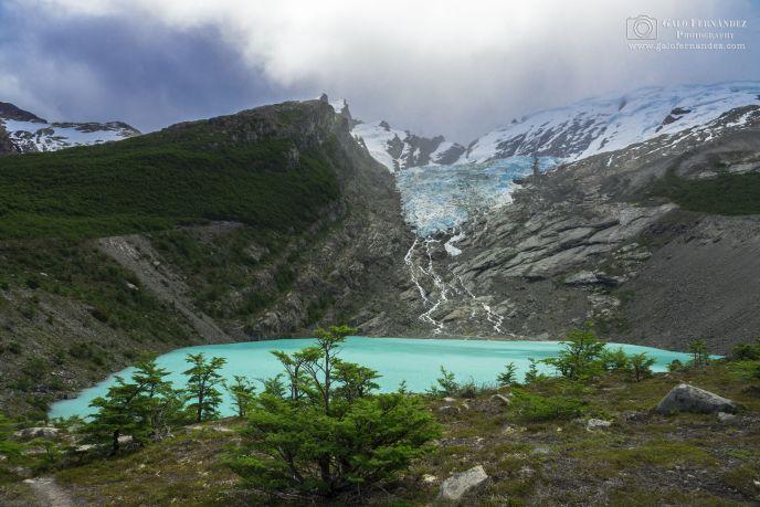 Laguna y Glaciar del Huemul, El Chalten - SC