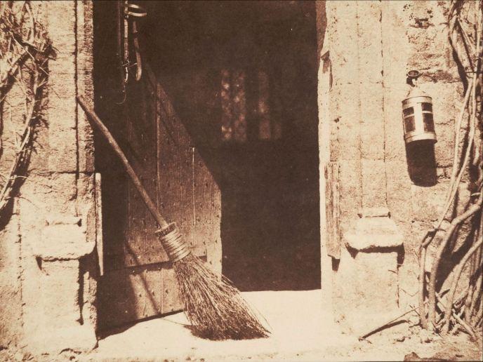 La Puerta Abierta - William FOX TALBOT