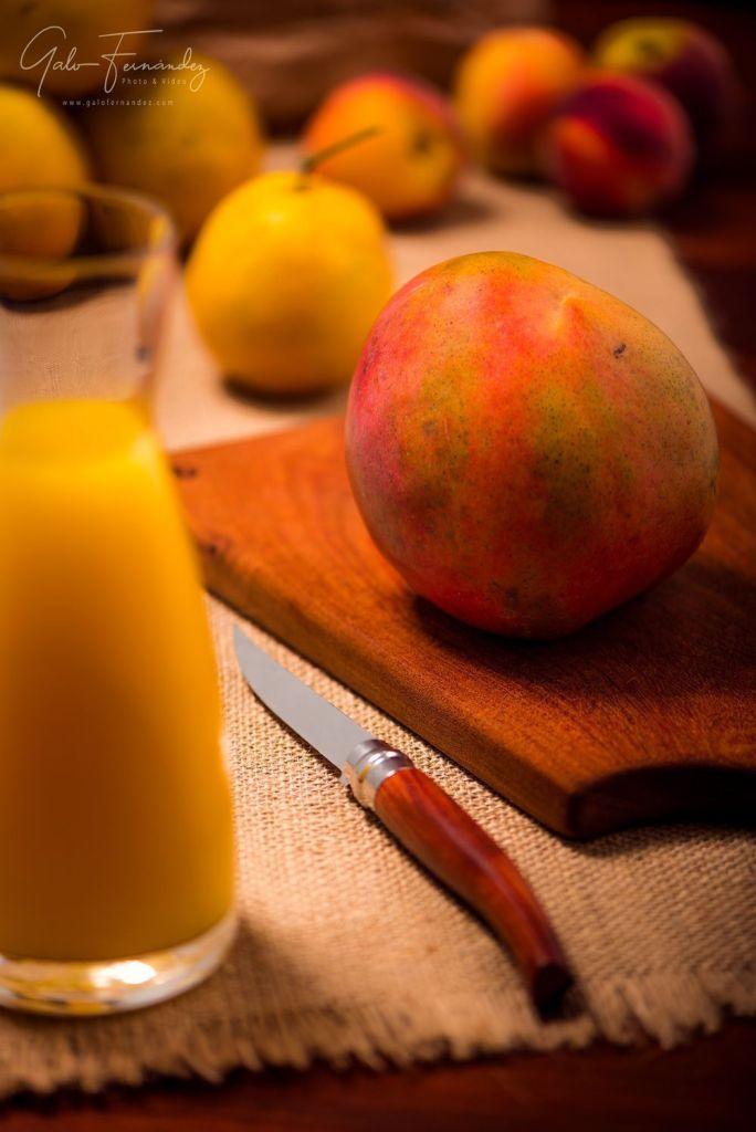 Jugo de Mango, Naranja & Durazno