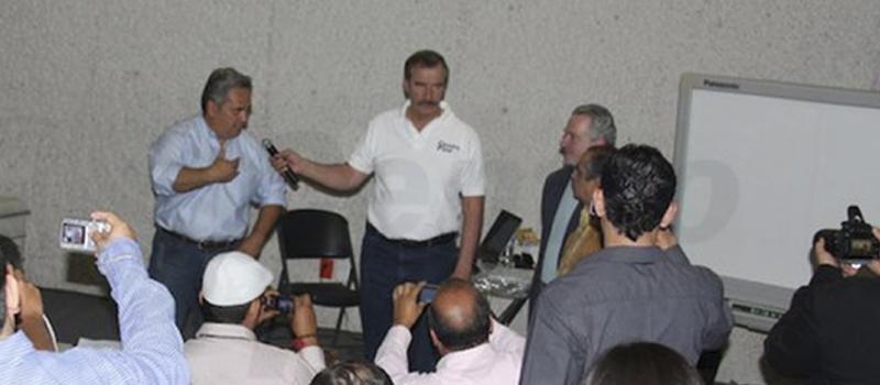 Galo Limón, Capacitación Vicente Fox