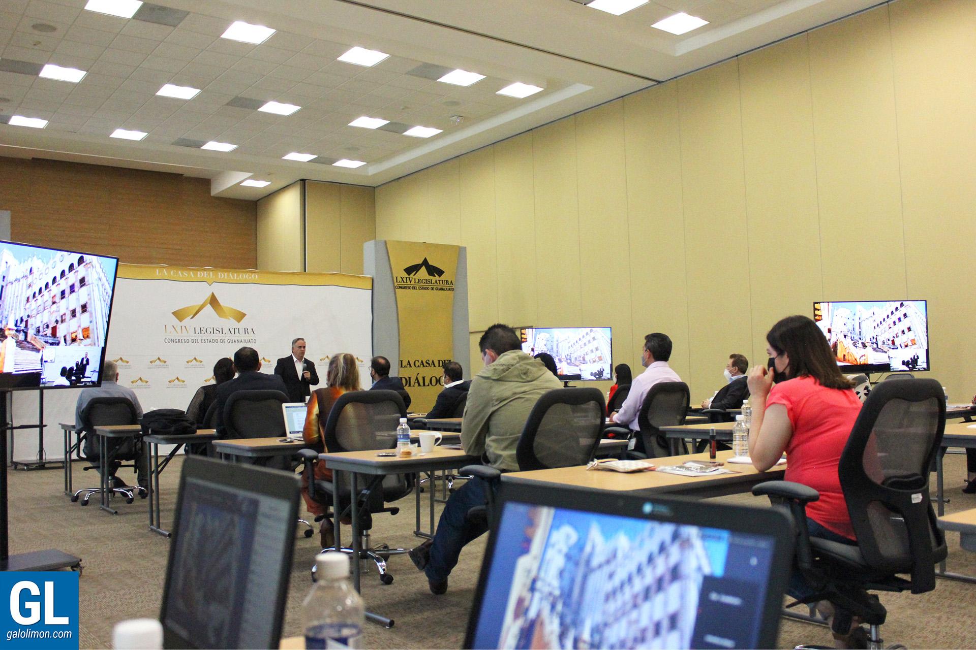 Seminario Mejor Servidor Público, Galo Limón, Congreso del Estado de Guanajuato, 2020