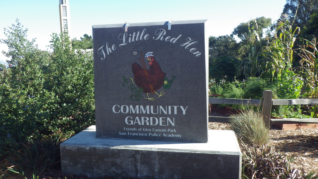 The Little Red Hen Community Garden, Diamond Heights, San Francisco