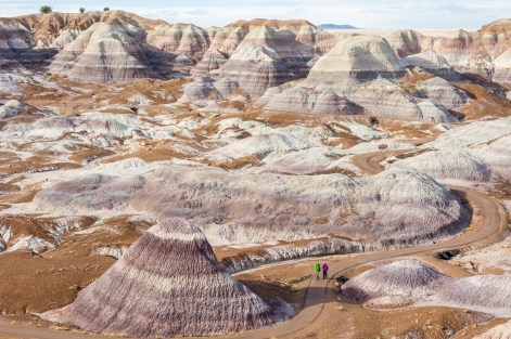 Even if the badlands are really bad to live, they remain a beautiful place to have a walk.